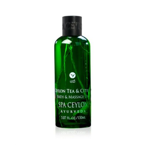 CEYLON TEA & CITRON – Bath & Massage Oil 150ml