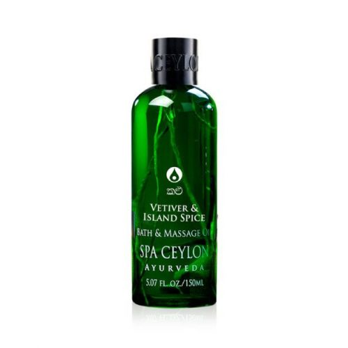 VETIVER & ISLAND SPICE – Massage & Bath Oil 150ml