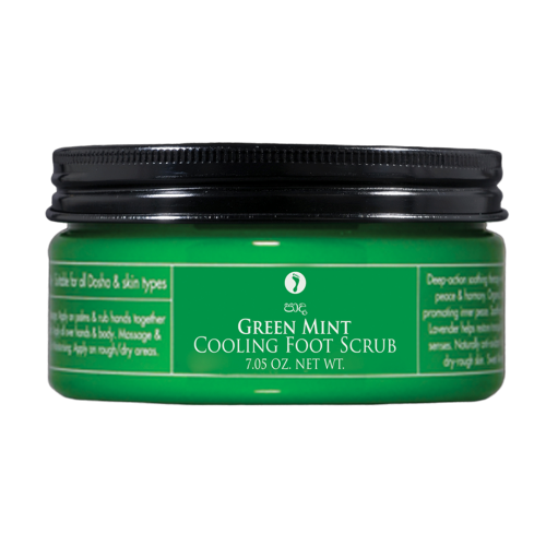 GREEN MINT – Cooling Foot Scrub 200g