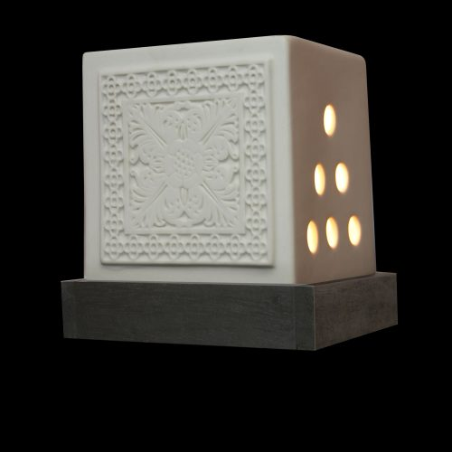 KANDYAN WHITE STONEWARE – Oil Burners (Electric)