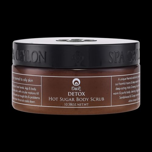 DETOX – Hot Sugar Body Scrub (300g)