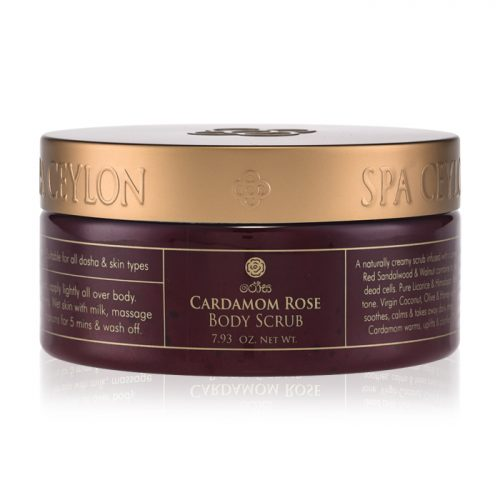 CARDAMOM ROSE – Body Scrub  225g